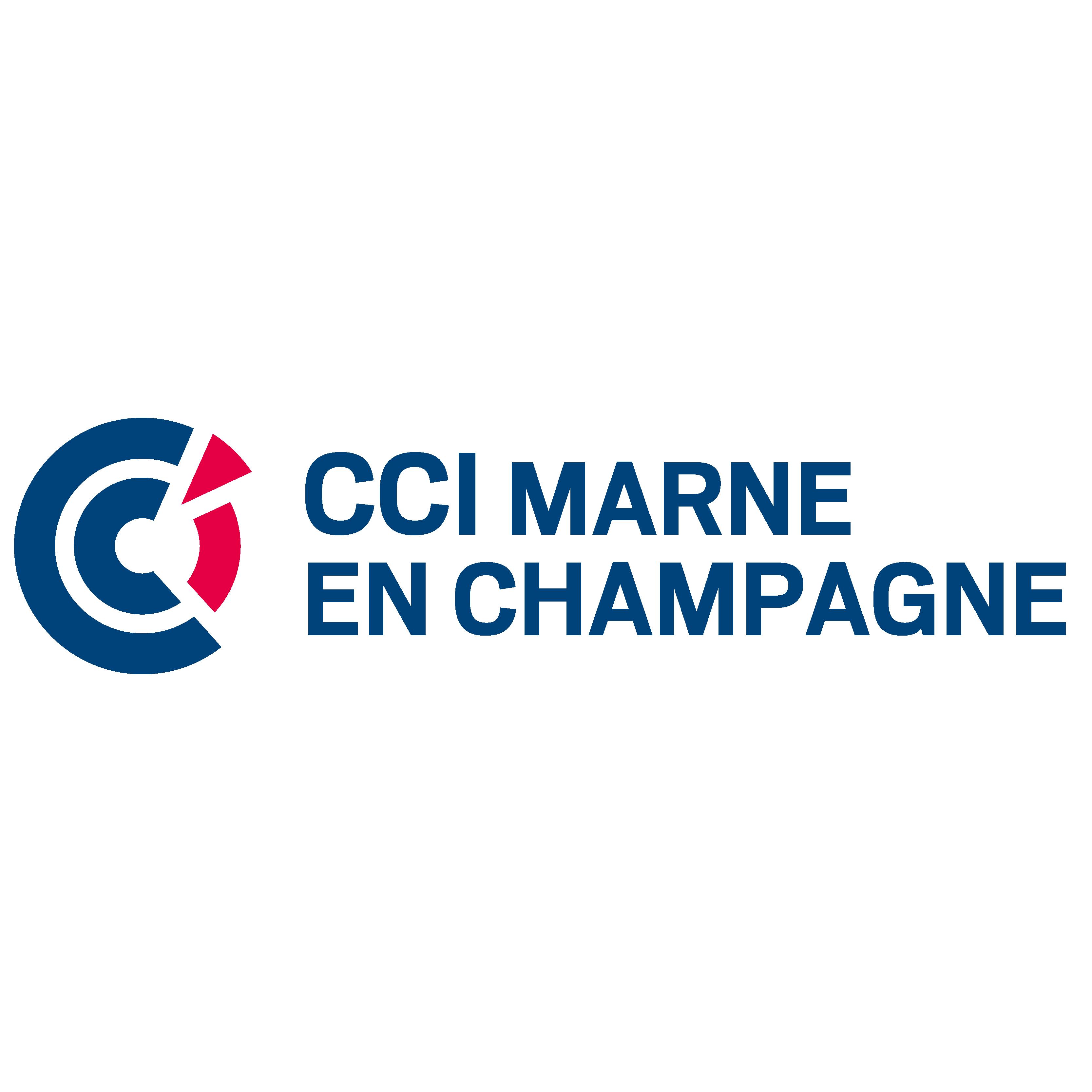 Logo CCI Marne en champagne partenaire de MCVAIC