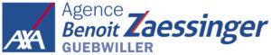Logo AXA Benoit Zaessinger